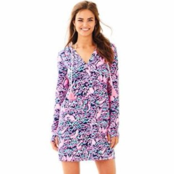 76de248099 Lilly Pulitzer Dresses | Lillypulitzer Upf 50 Rylie Cover Up Dress ...